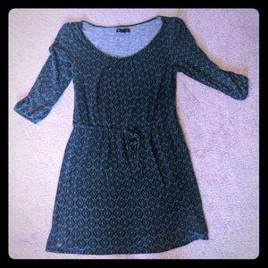 Gap teal&blue design dress size S